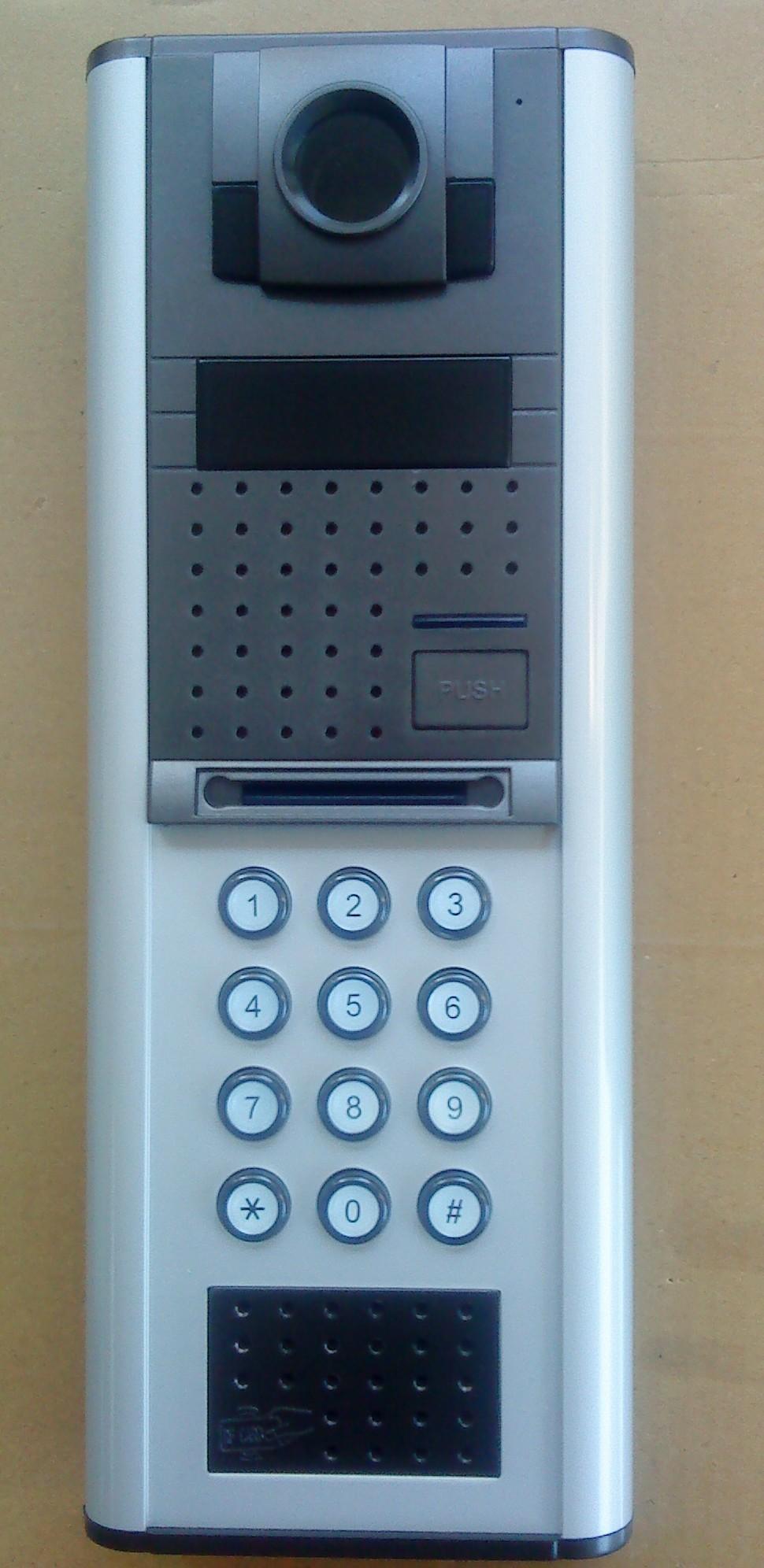 nec楼宇对讲系统门口主机