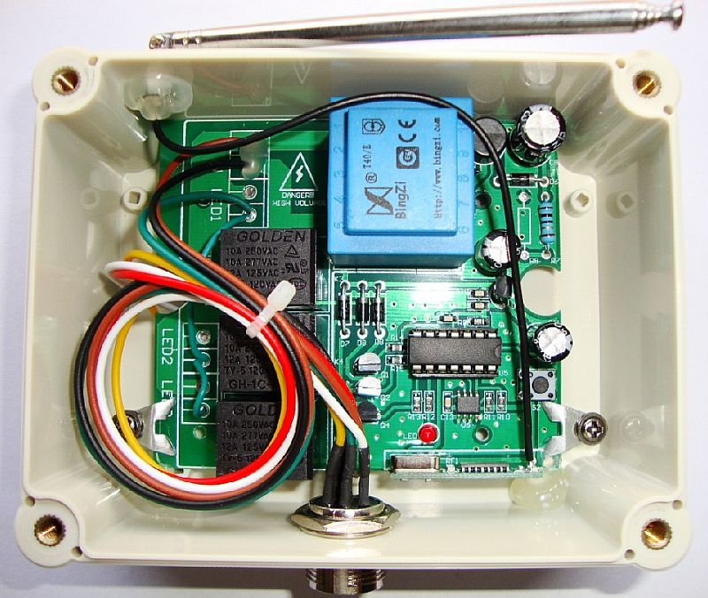 jlh-822b电动闸门电机遥控控制器
